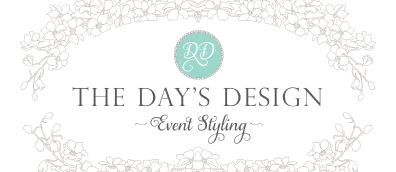 The Day's Design Event Styling