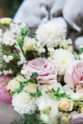 Pink and White Bridal Bouquet | The Day