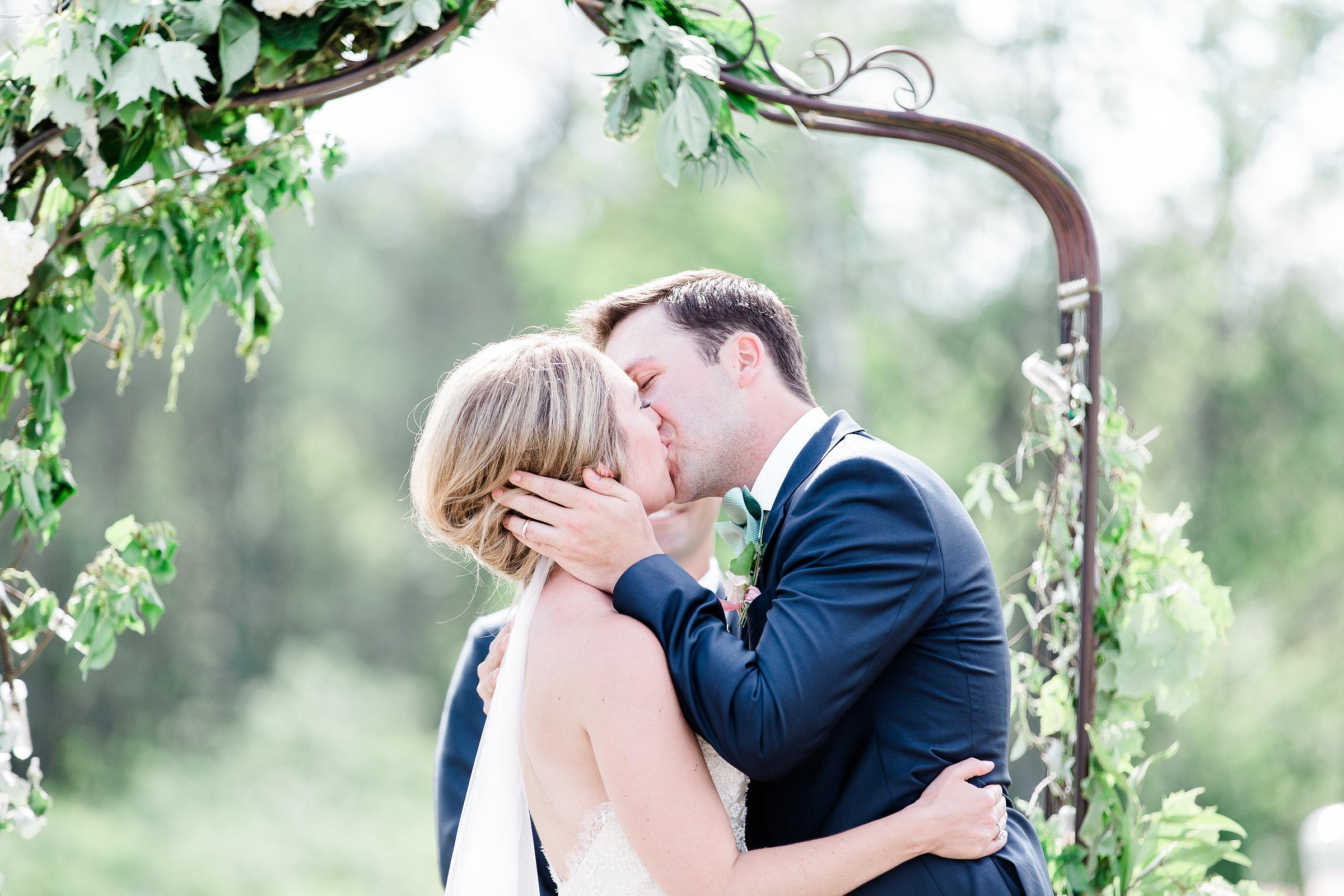 Real Weddings Instagram: Real Weddings :: Jarvie & Hank's Leelanau Wedding