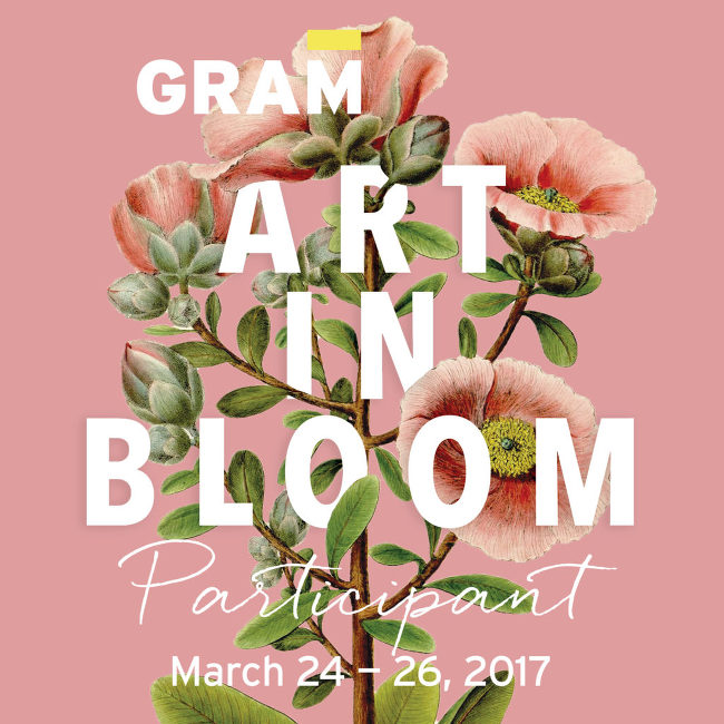 GRAM Art in Bloom 2017