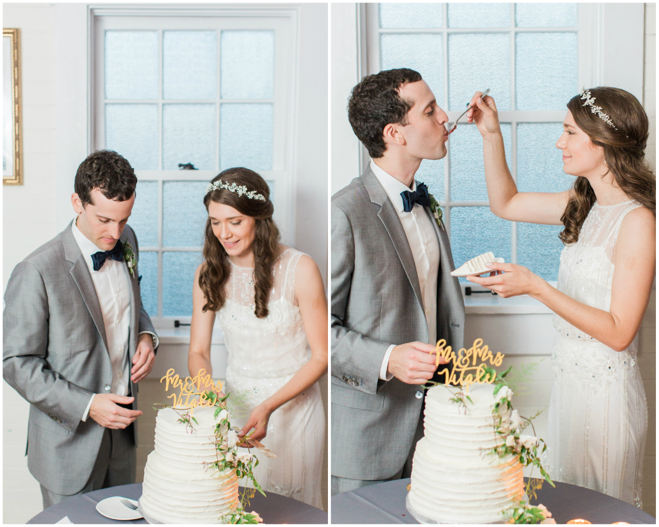 Real Weddings :: Crissie & Mike's Fern Infused Frankfort