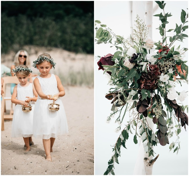 Lake Michigan Beach Wedding | The Day