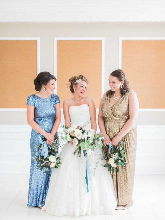Sequin Bridesmaids Dress | The Day
