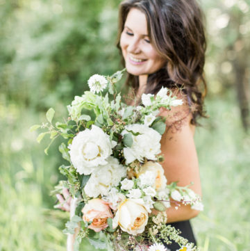 White Wildflower Bouquet | The Day's Deisgn