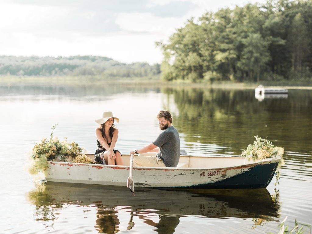 Row Boat photo Session | TownLine Journal